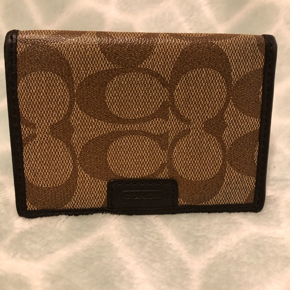 Coach Other - COACH Bifold Card Wallet with ID window